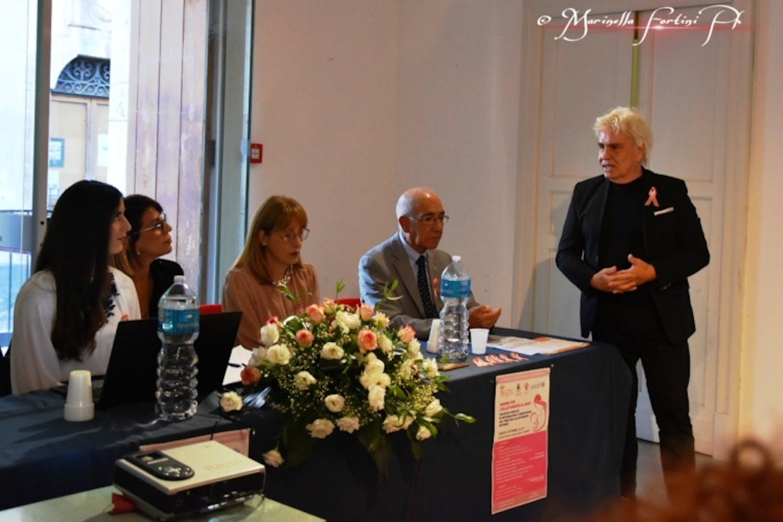 Maria Francesca Di Pasquale, Stefania Alaimo, Giovanna Catalano, Vincenzo Lorefice e il Sindaco di Scordia Francesco Barchitta