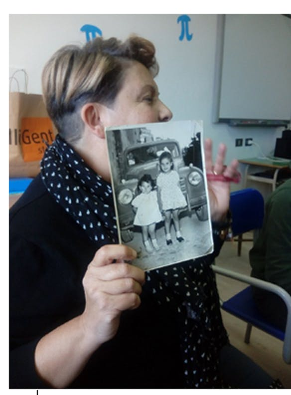 L'insegnante Maria Teresa Angiolillo