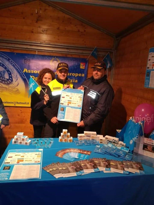 Mascalucia, la festa continua. Inizia una proficua collaborazione tra UNICEF e A.E.O.P.