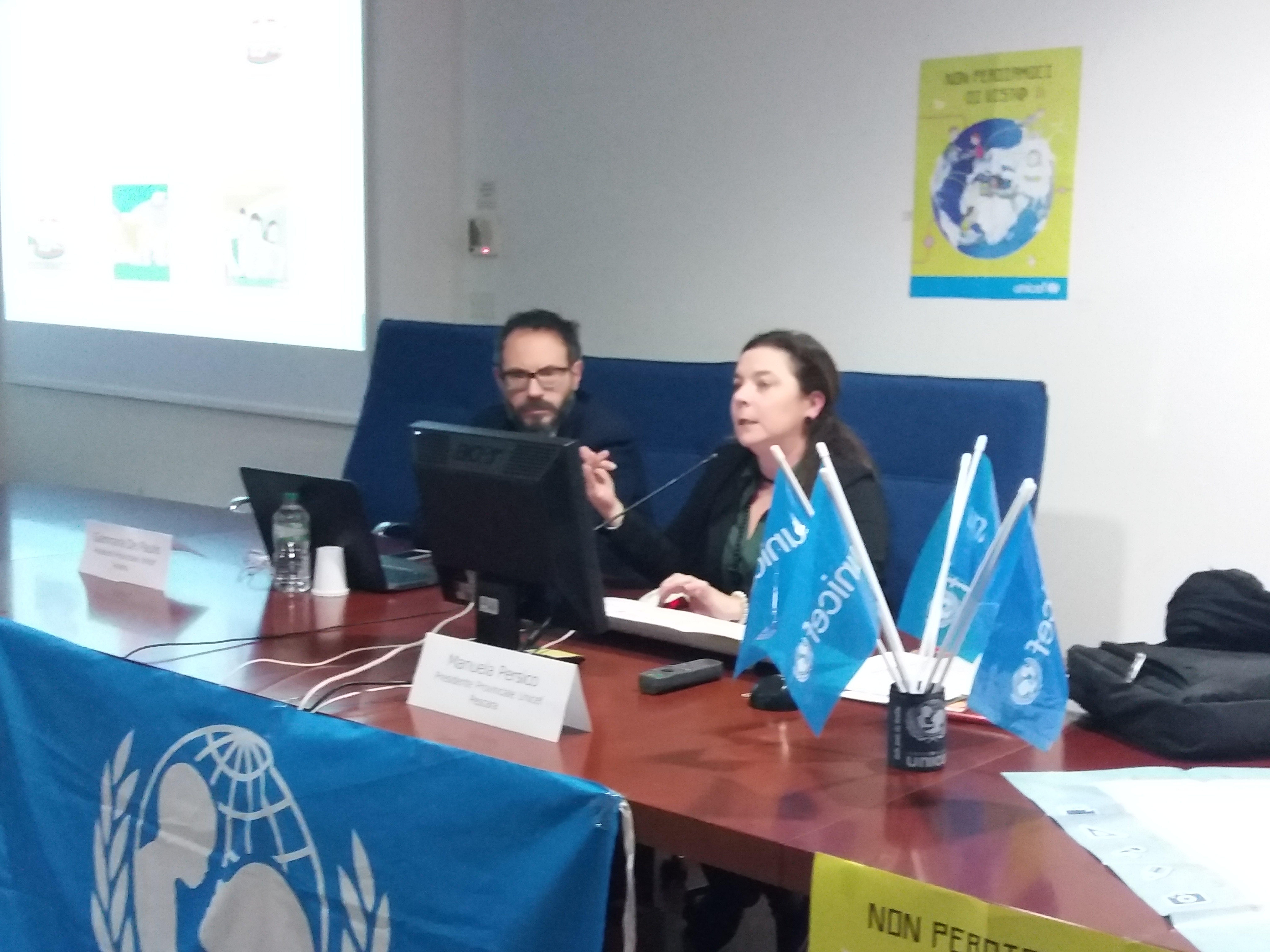 Manuela Persico, presidente Comitato UNICEF Pescara