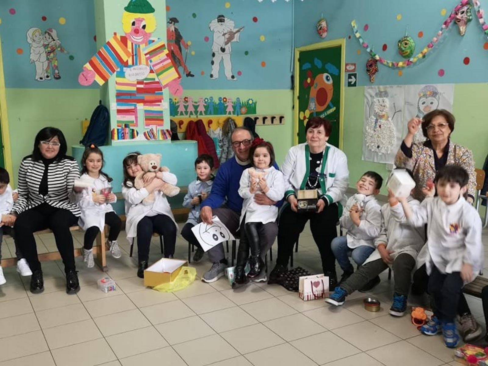 A Potenza, con il Comitato Provinciale UNICEF, la scuola dell'infanzia di via Lacava si racconta ed  educa alle emozioni
