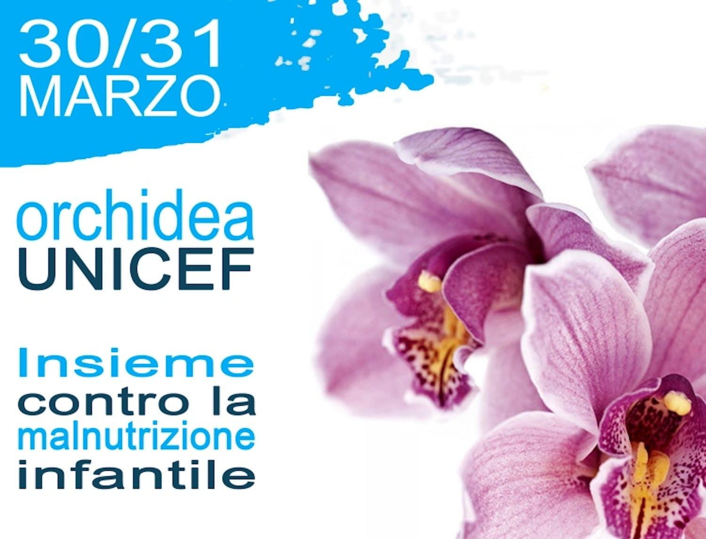 Locandina dell'Orchidea dell'UNICEF