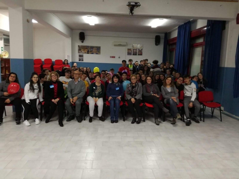 Gli studenti dell'I.C. Montalcini