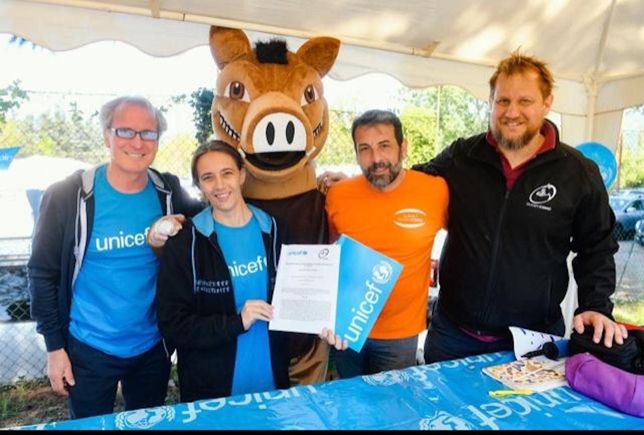 Firmato a Como l'accordo di sostegno a UNICEF tra ASD Rugby e comitato provinciale