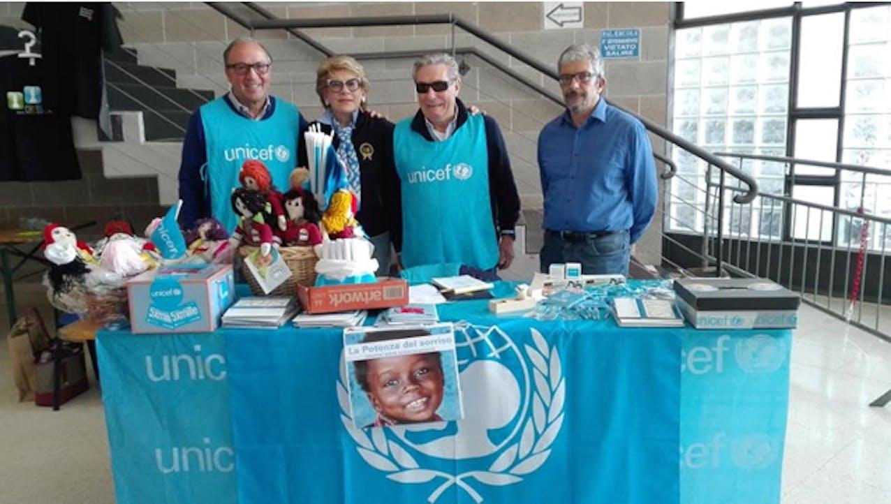 Da sinistra Mario Coviello, Angela Granata, Giuseppe Siciliano e Luigi Maria Caggiano