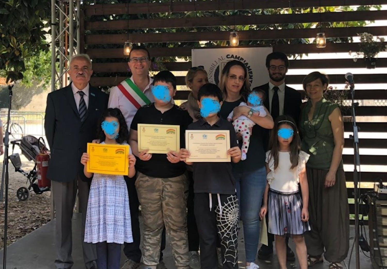Foto di gruppo per la nomina