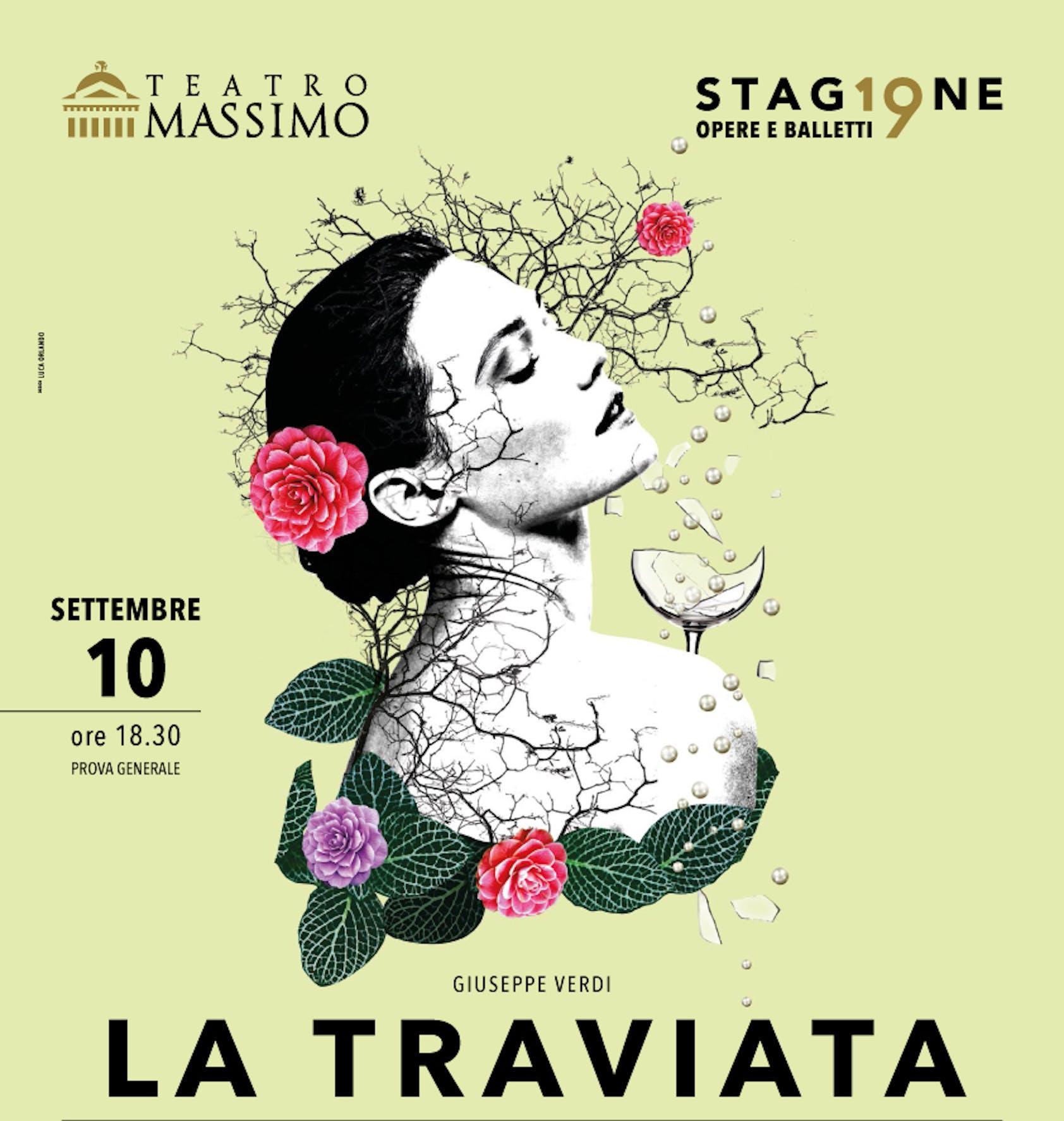 Giuseppe Verdi -  La Traviata - Melodramma in tre atti per l'UNICEF