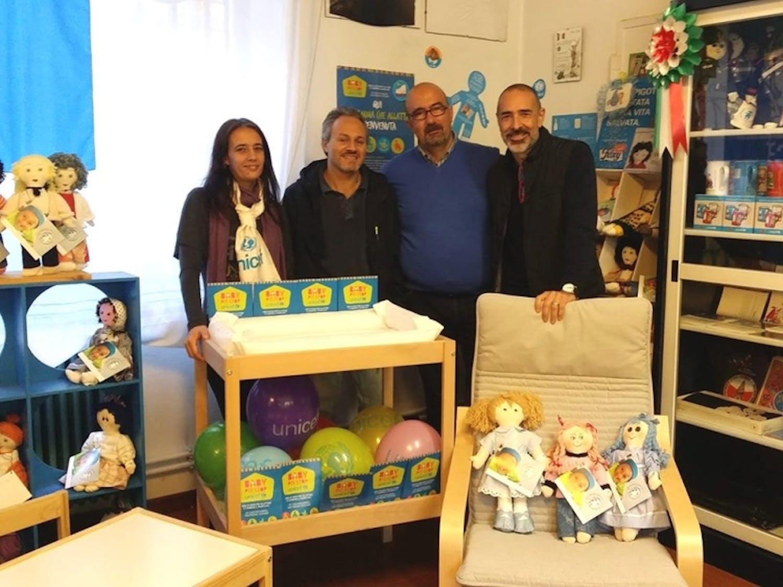 Un Baby Pit Stop con una storia speciale presso la sede UNICEF di Como