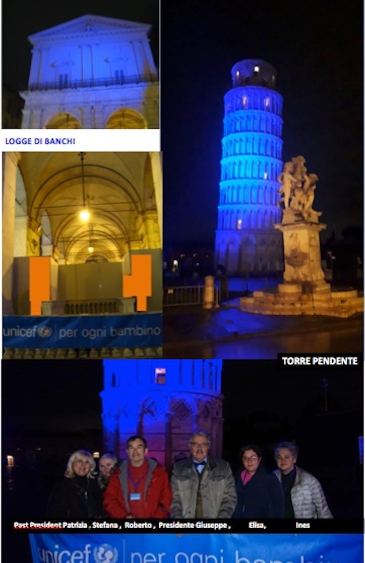 Go Blue a Pisa