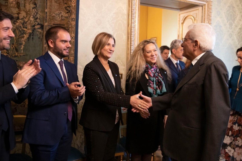 L'incontro con il Presidente Mattarella il 20 novembre 2019