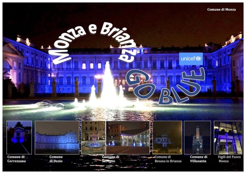 Go Blue in Monza Brianza