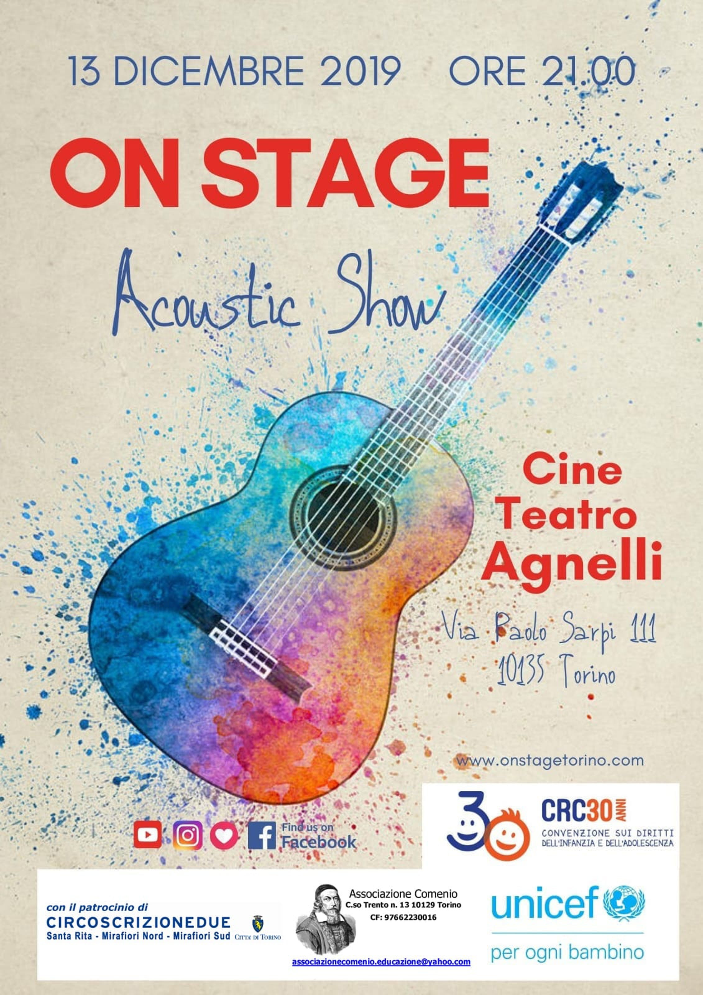 Un Concerto al teatro Agnelli per i 30 anni della Convenzione ONU sui Diritti dell'infanzia