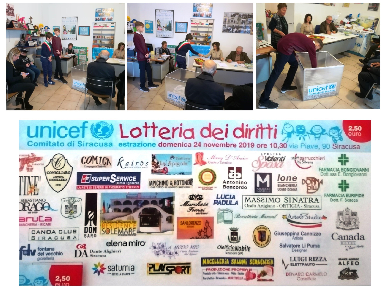 Estratti a Siracusa i Premi della 7^ Lotteria dei Diritti