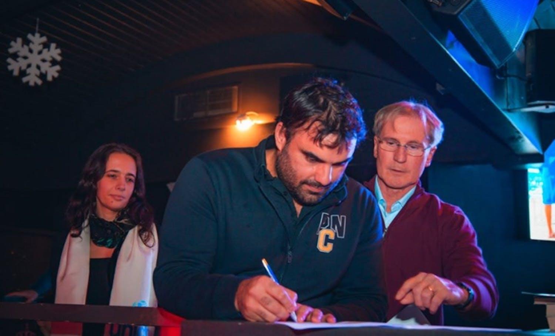 La Pallanuoto Como firma il protocollo con l'UNICEF Italia.
