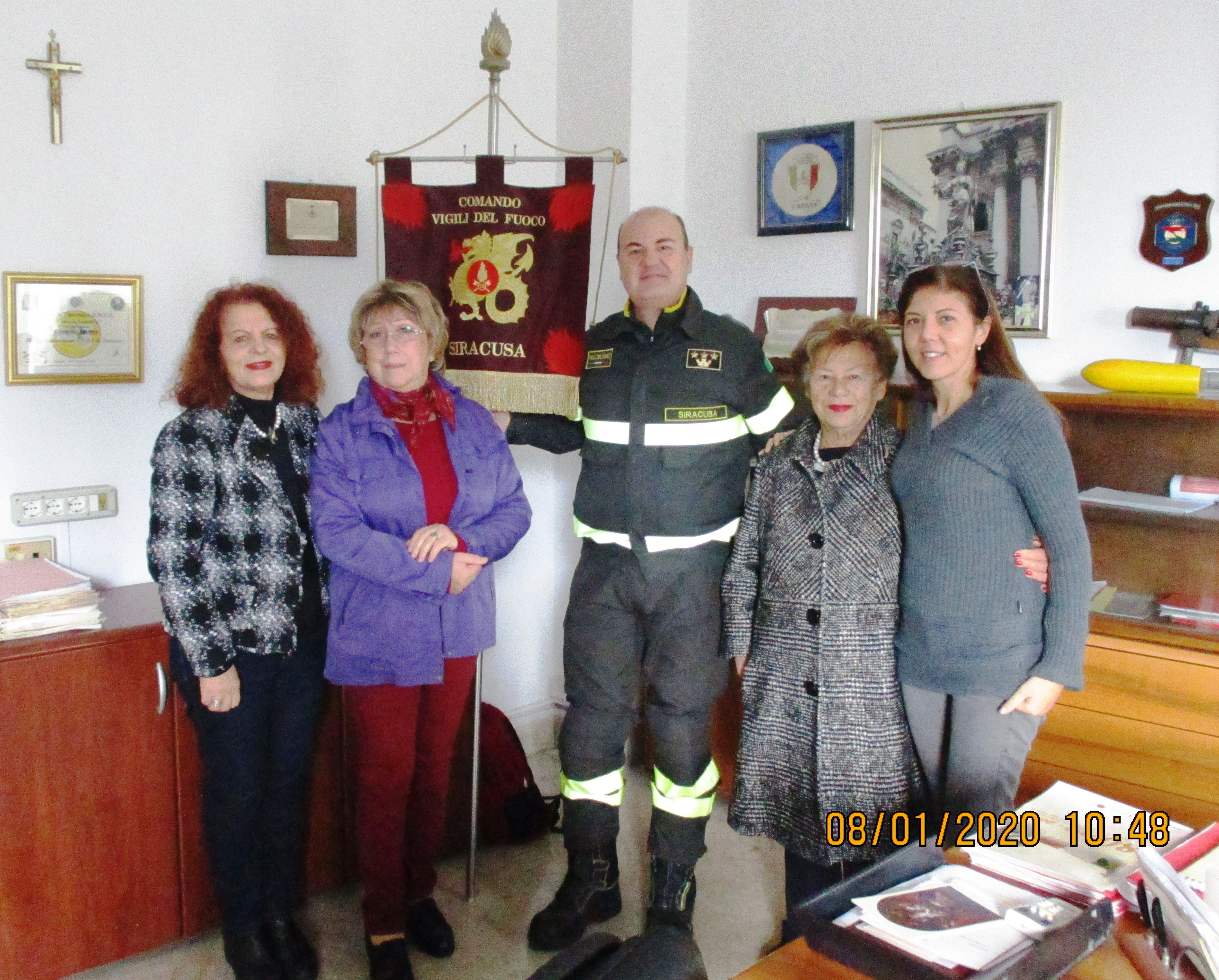 Angelica Romano, Pina Cannizzo, Michele Burgio, Carmela Pace, Francesca Guido