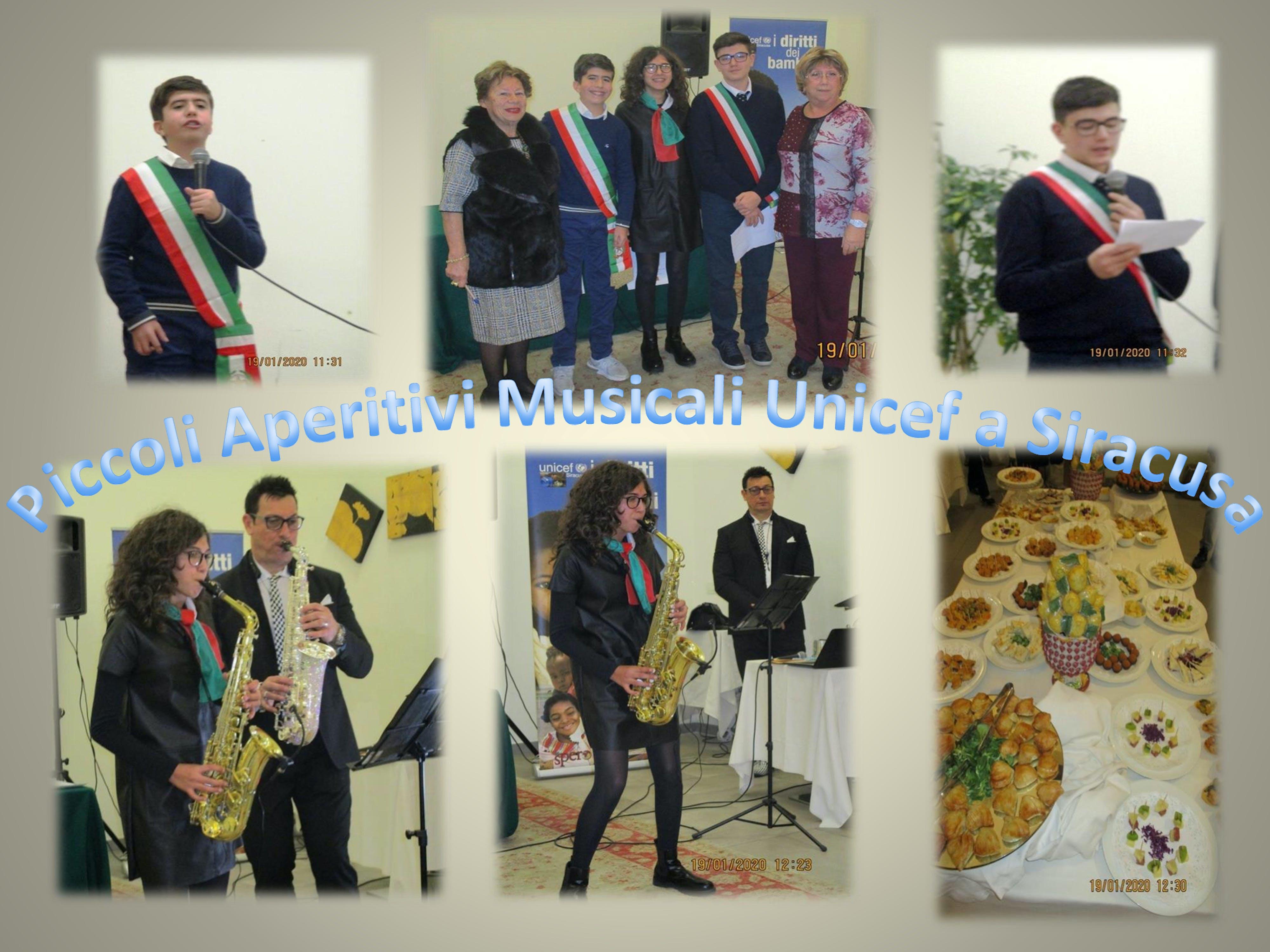 Piccoli Aperitivi Musicali per l'UNICEF a Siracusa