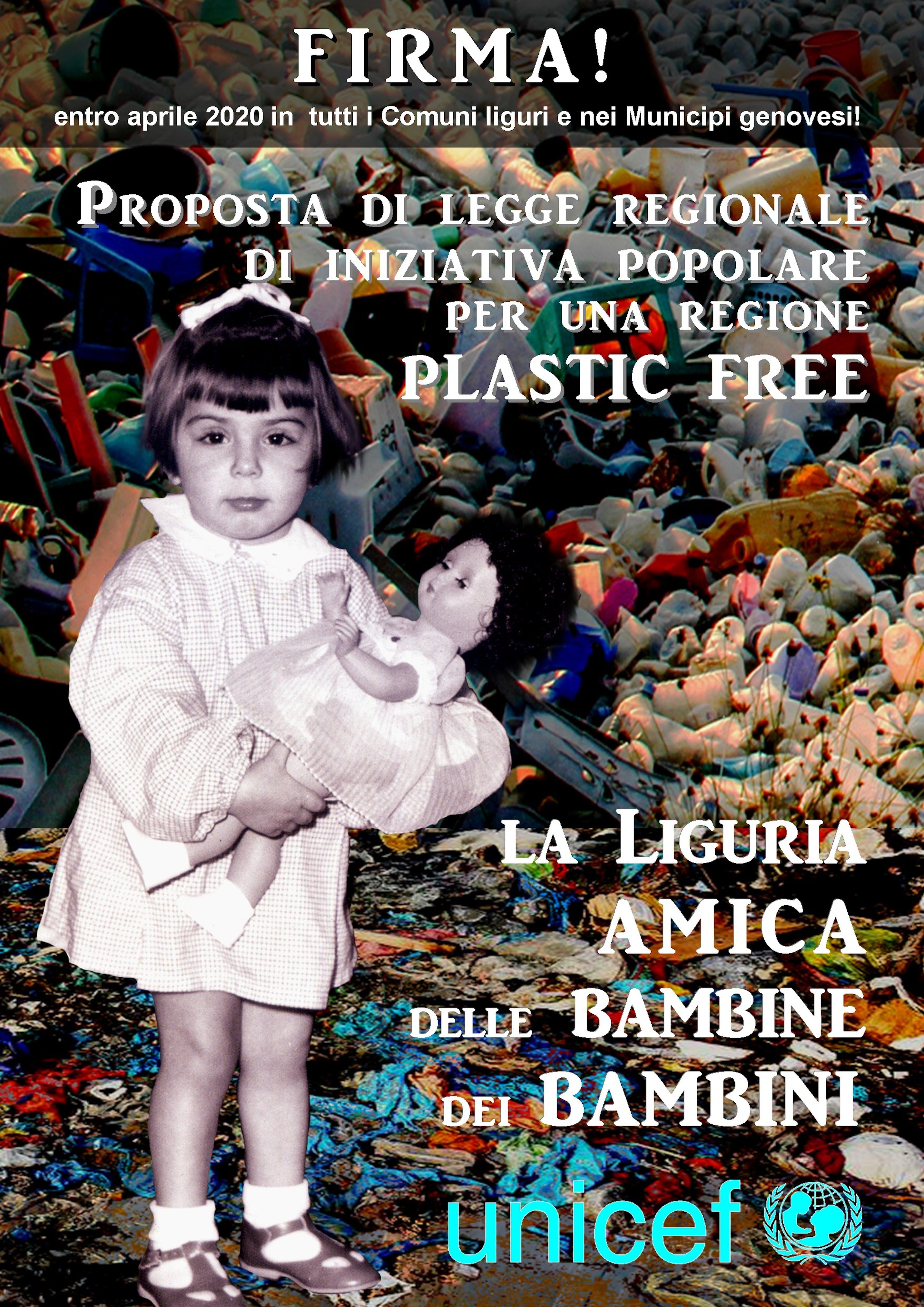 Firma per una Liguria plastic free!