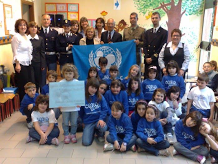 UNICEF Civitavecchia alla cerimonia della scuola