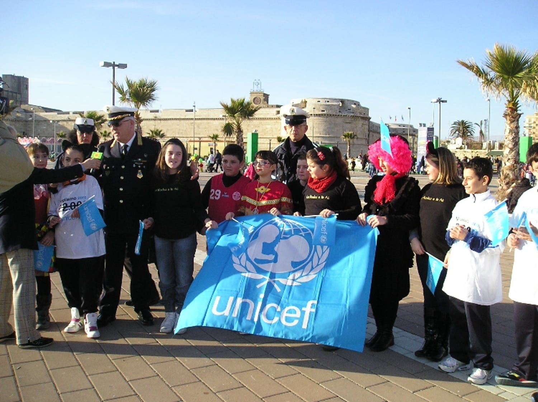 A Civitavecchia, carnevalando per l'UNICEF