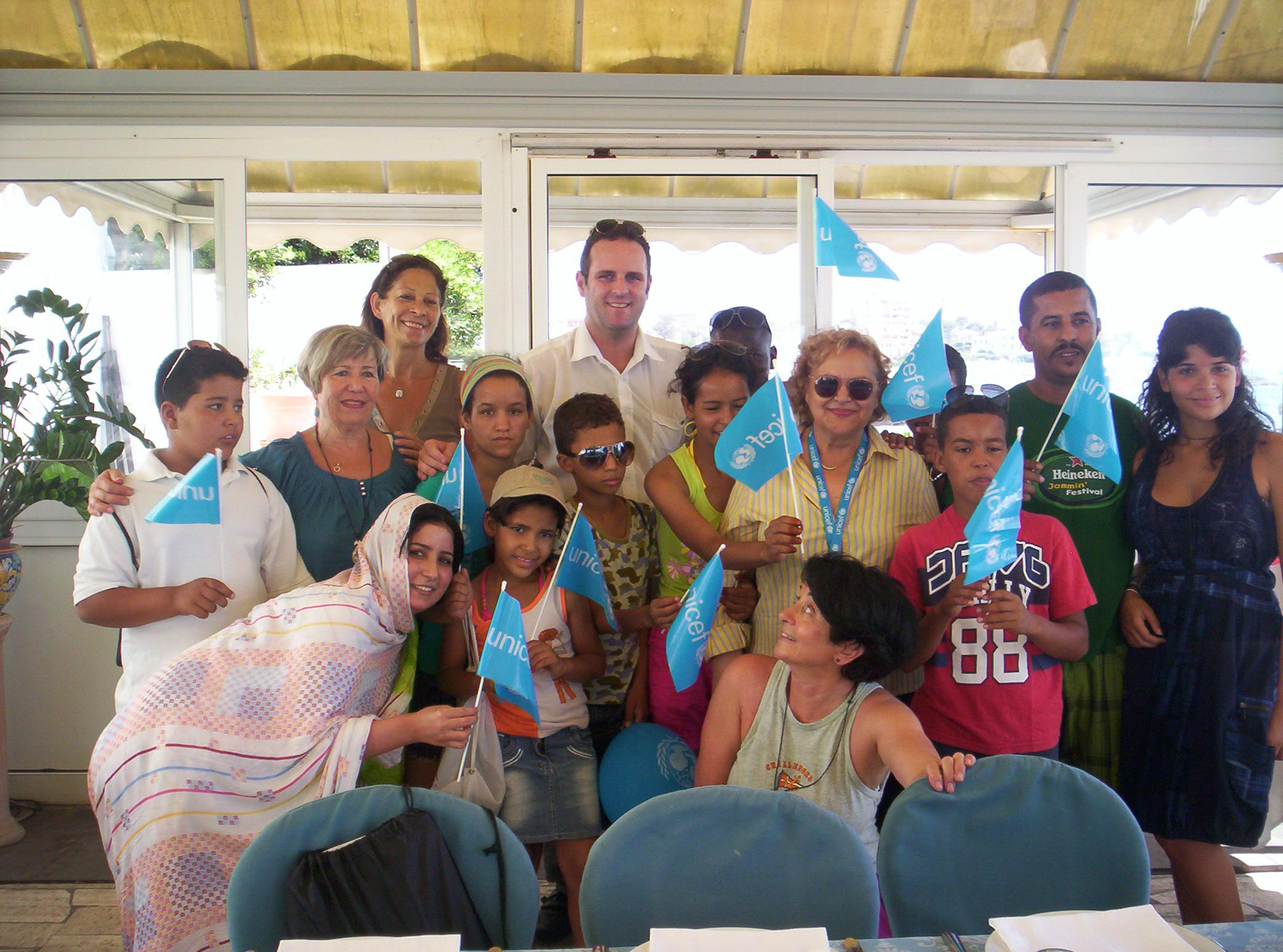 Tolfa e Civitavecchia per i piccoli bambini Saharawi