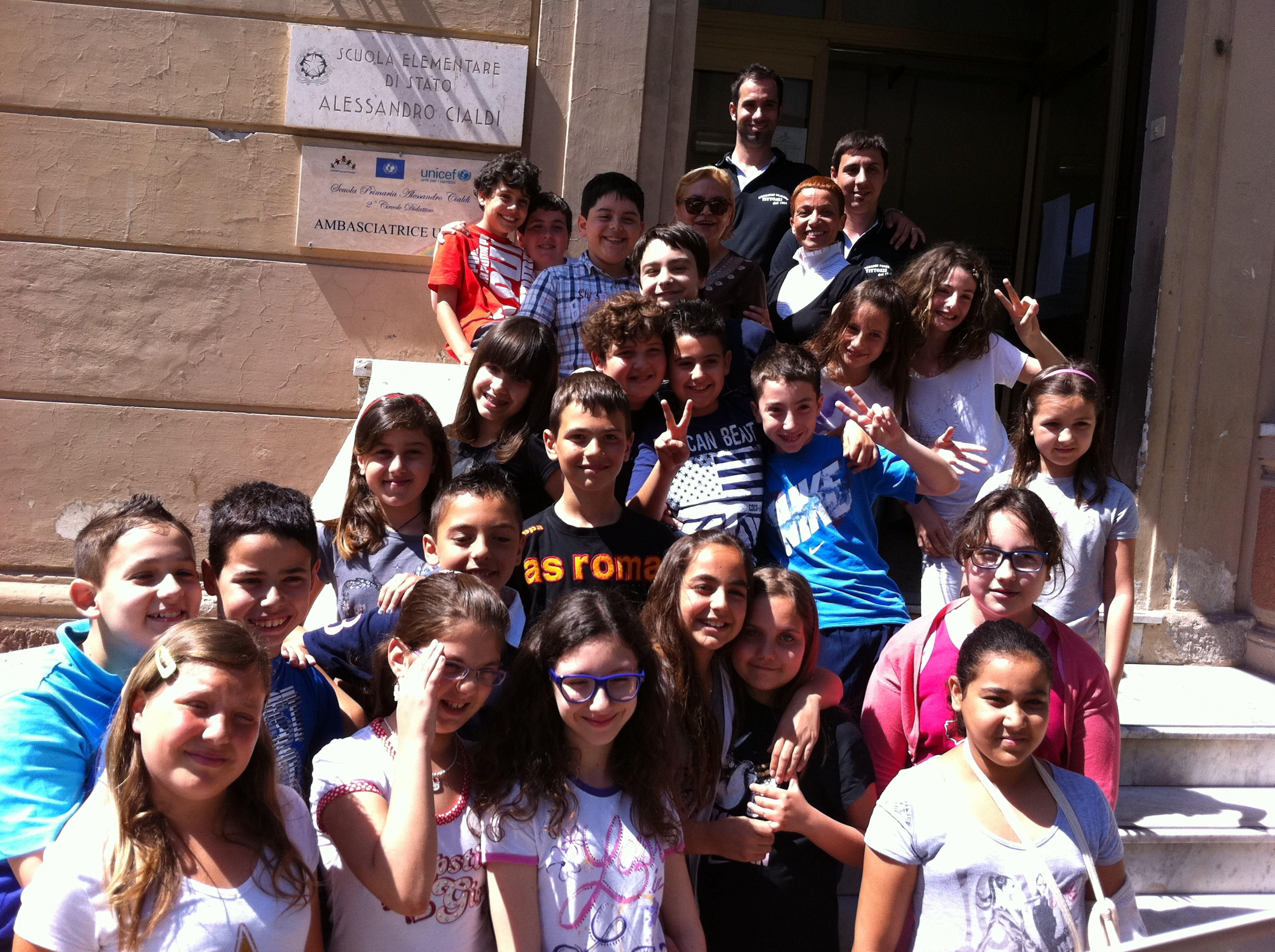 Su Rai Gulp vanno in onda gli alunni della Scuola Cialdi di Civitavecchia