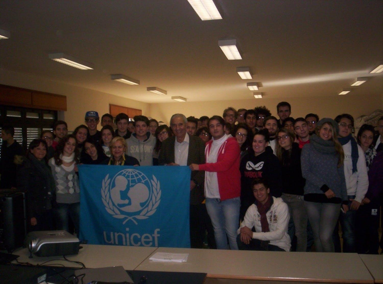 Civitavecchia: Gianfranco Amendola con UNICEF per l'ambiente