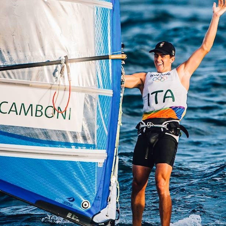 Mattia Camboni a Rio 2016