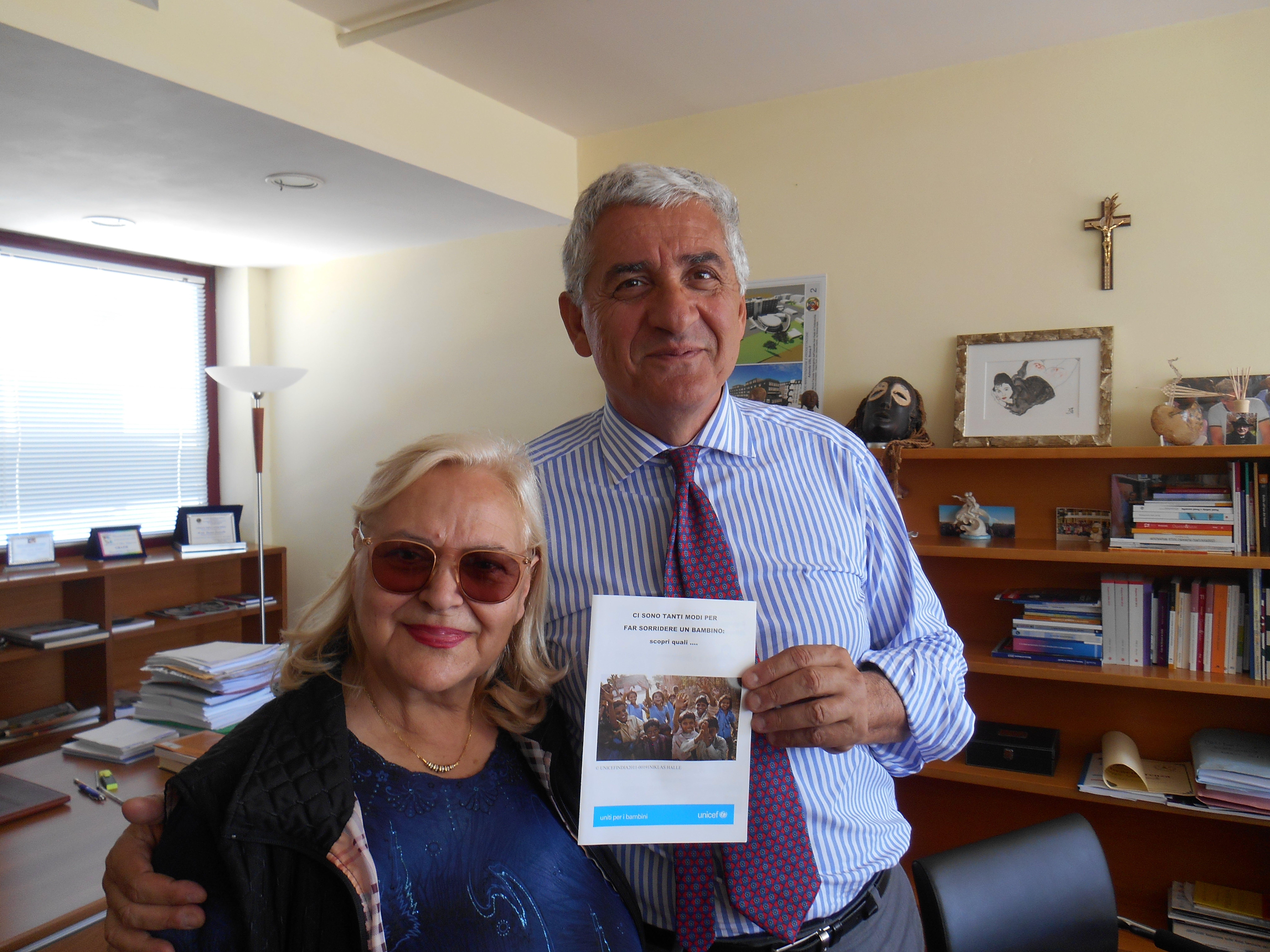 Civitavecchia: l'ASL RM4 aiuta l'UNICEF