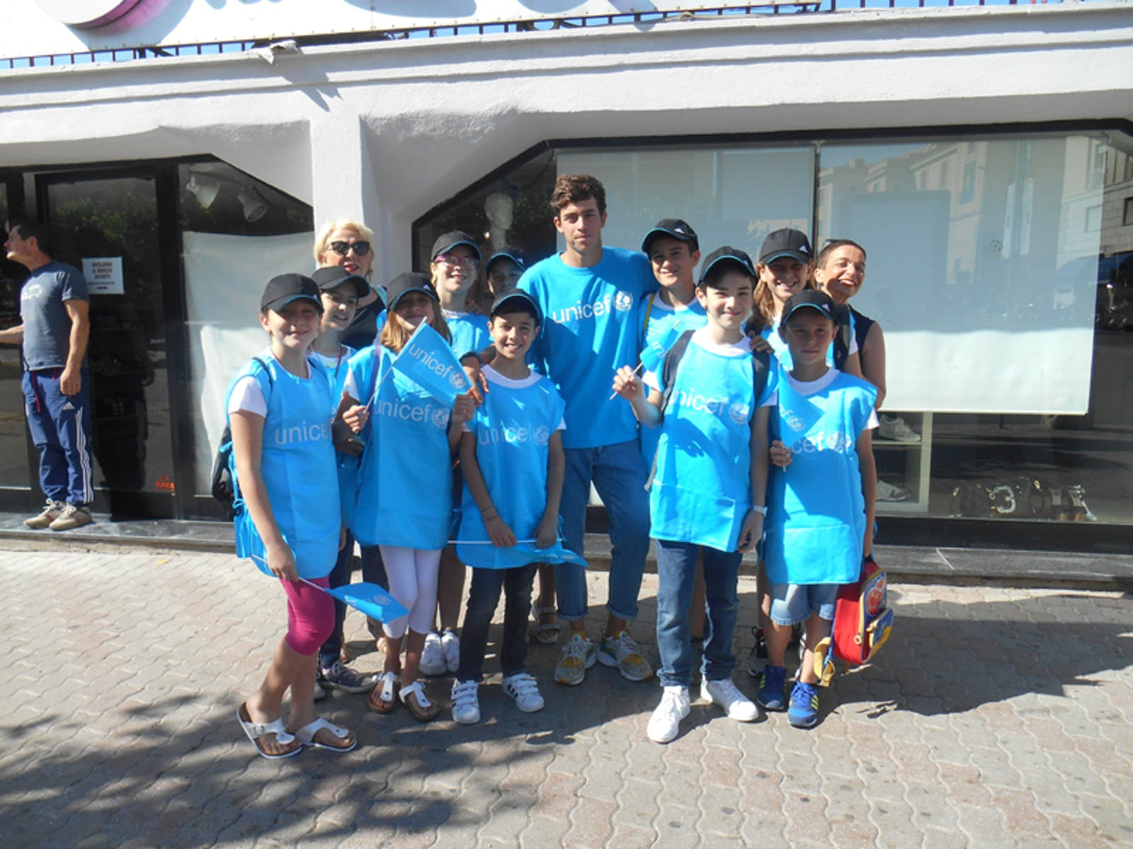 Foto di gruppo dell'evento di Civitavecchia