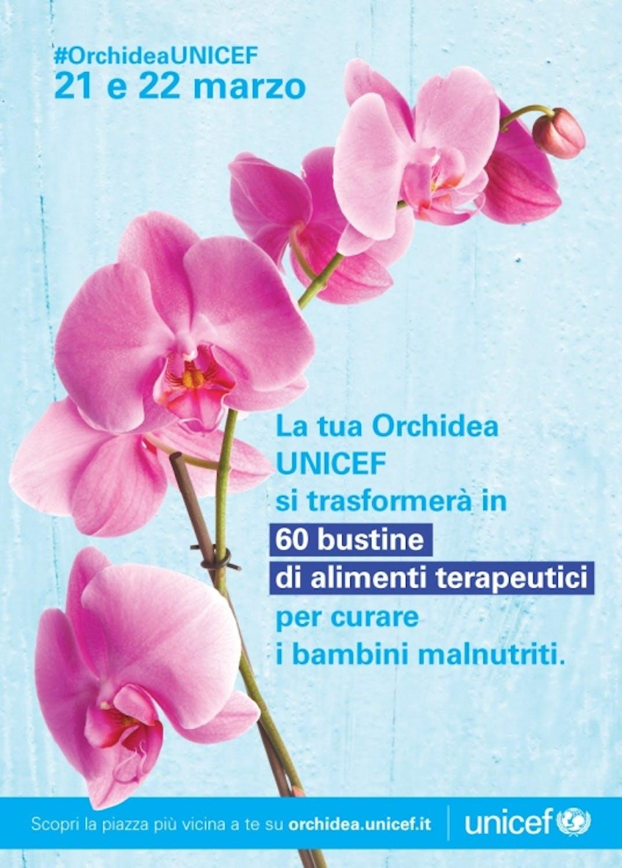 L'Orchidea UNICEF 2020