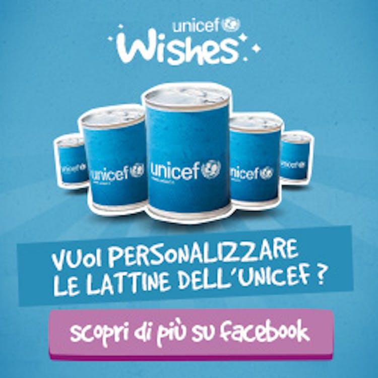 On line la campagna UNICEF Wishes