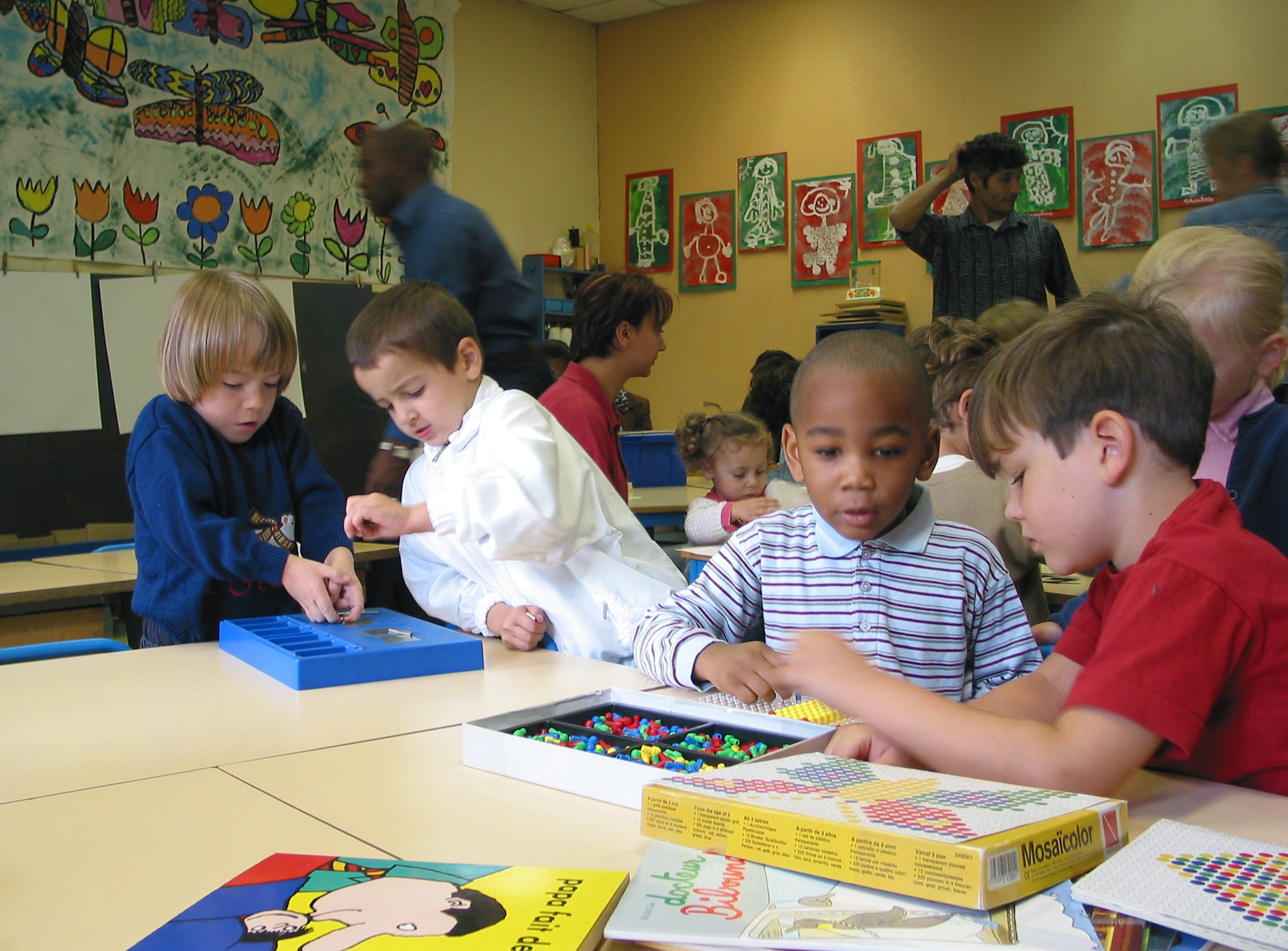 Sui banchi di una scuola multietnica