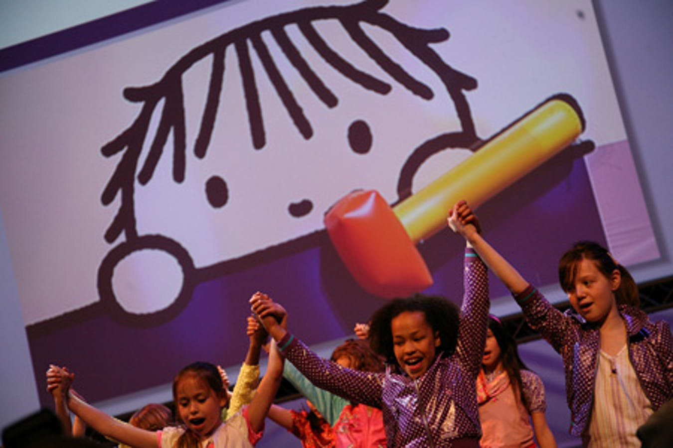 Un'immagine dall'inaugurazione della Conferenza dell'Aja sul lavoro minorile