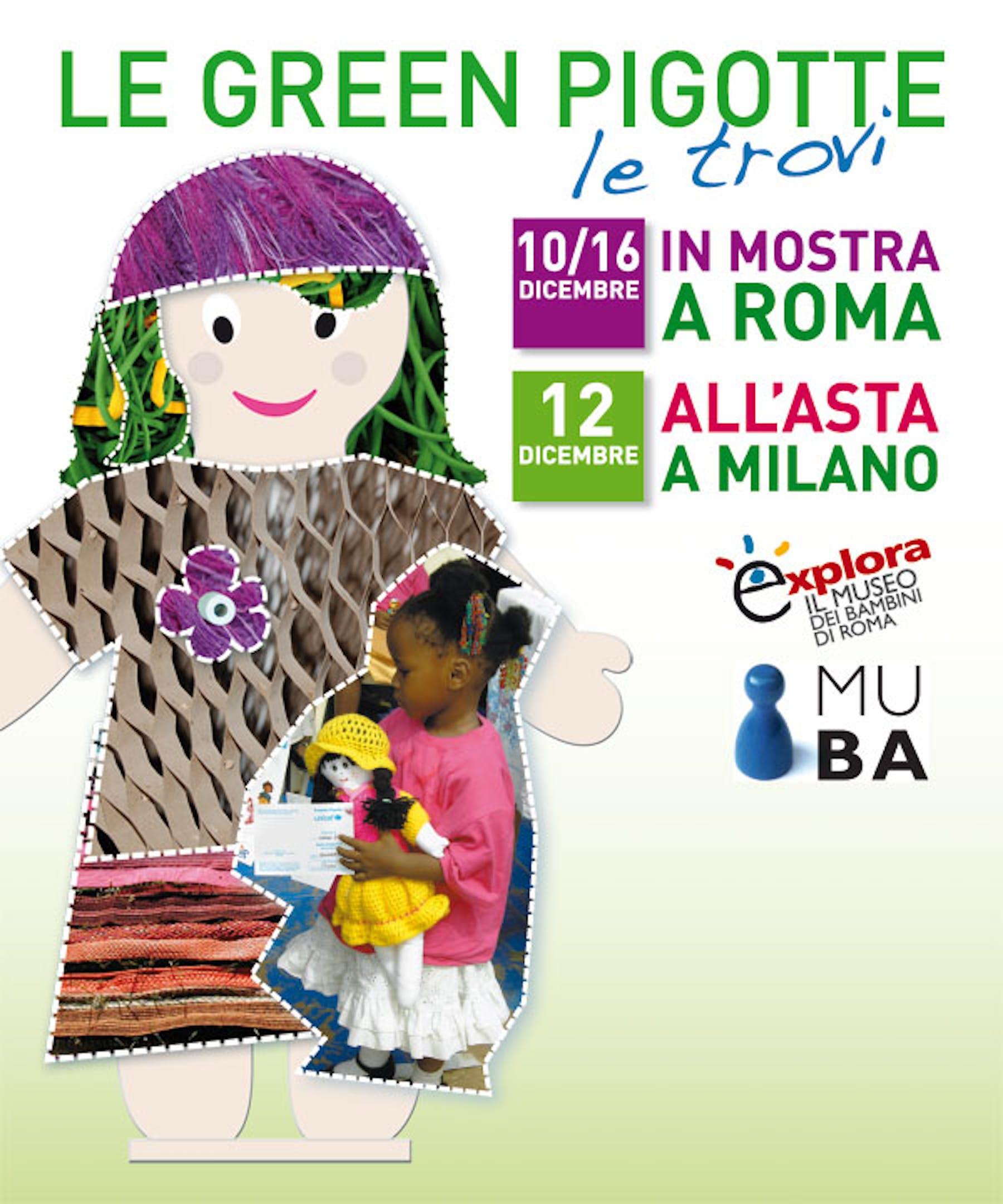 Le Green Pigotte dell'UNICEF