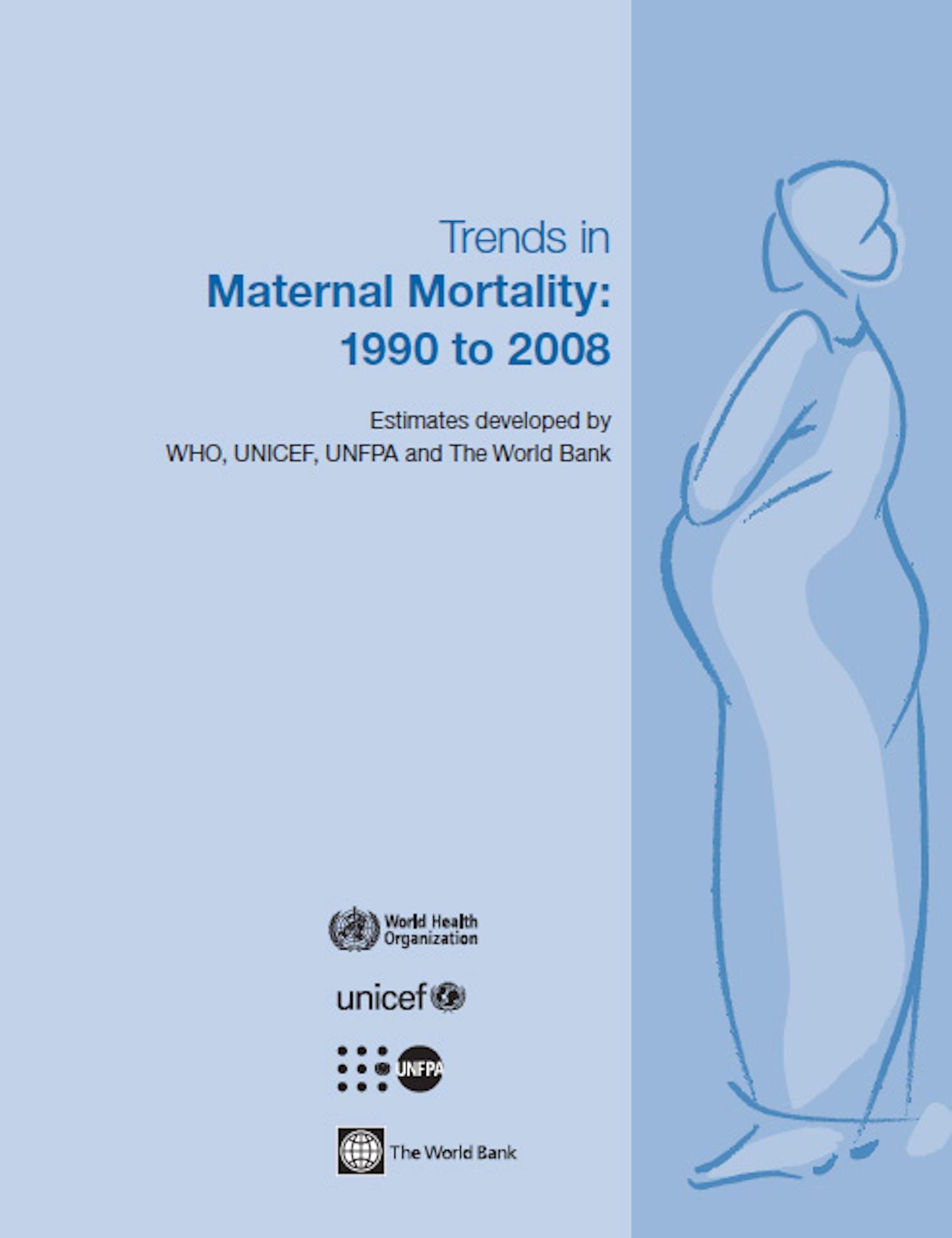Copertina rapporto Trends in maternal mortality 1990 2008.jpg