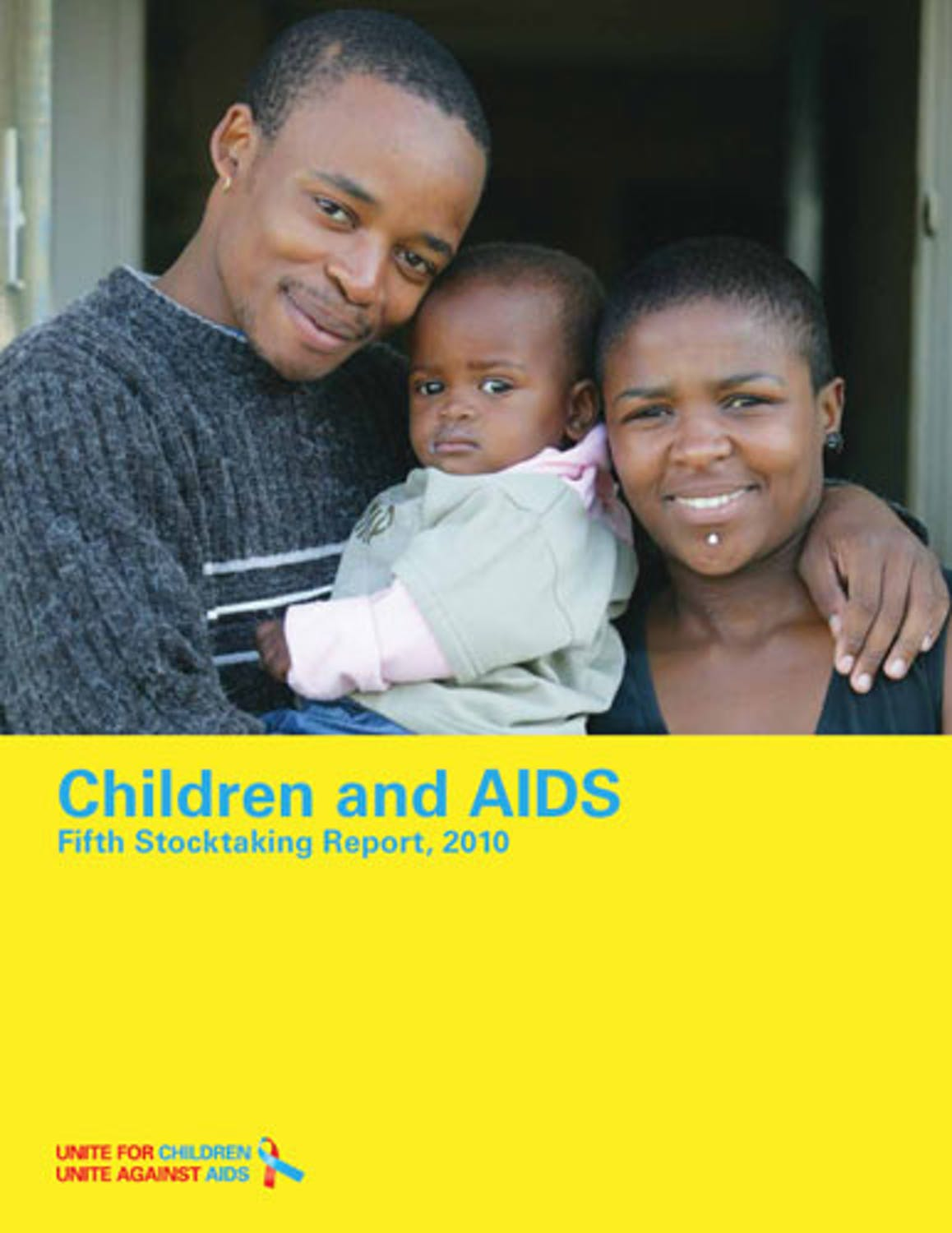 Copertina Children and AIDS. Fifth Stocktaking Report