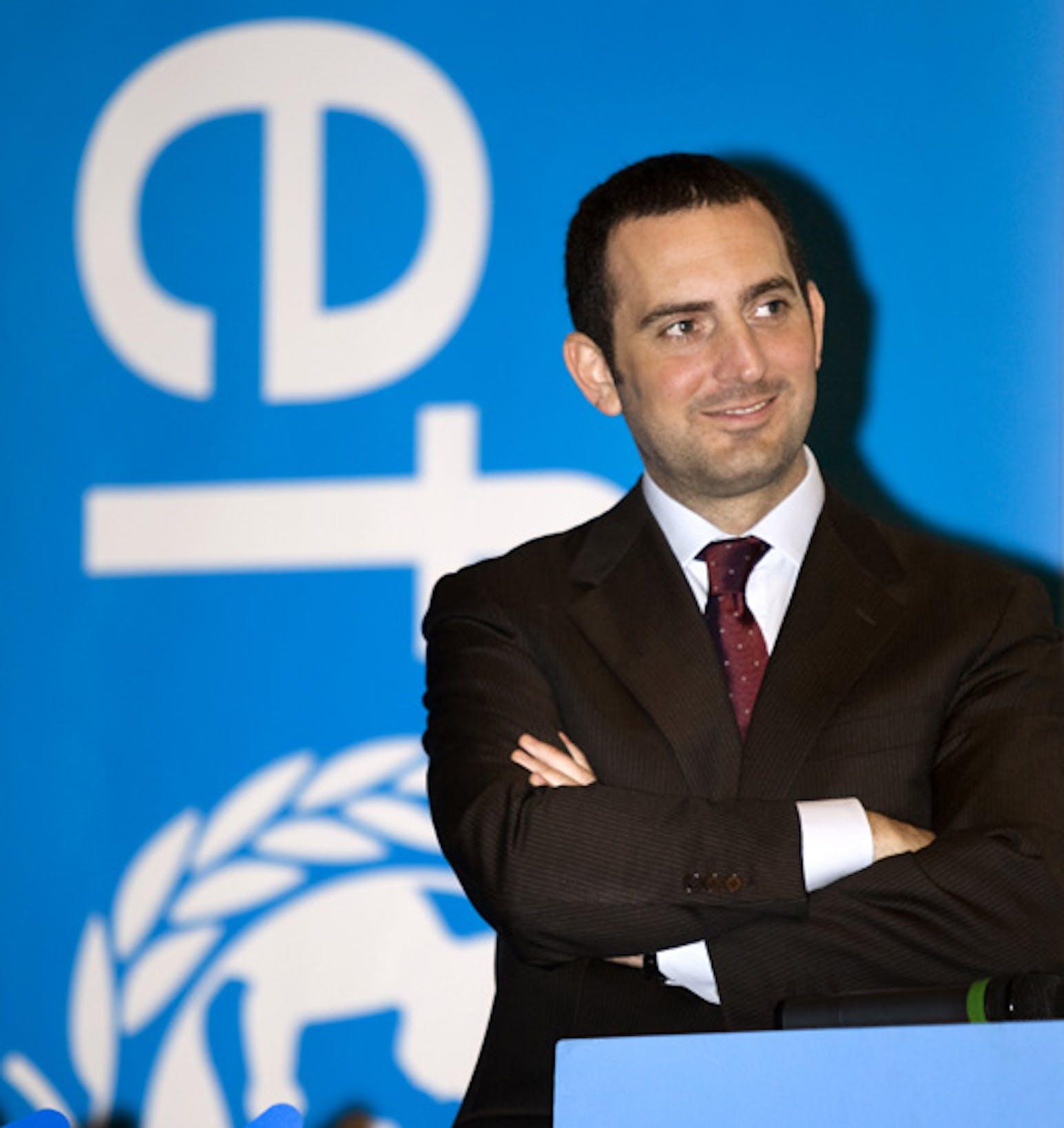Vincenzo Spadafora, rieletto presidente dell'UNICEF Italia - ©UNICEF Italia/2011/A.Lombardi