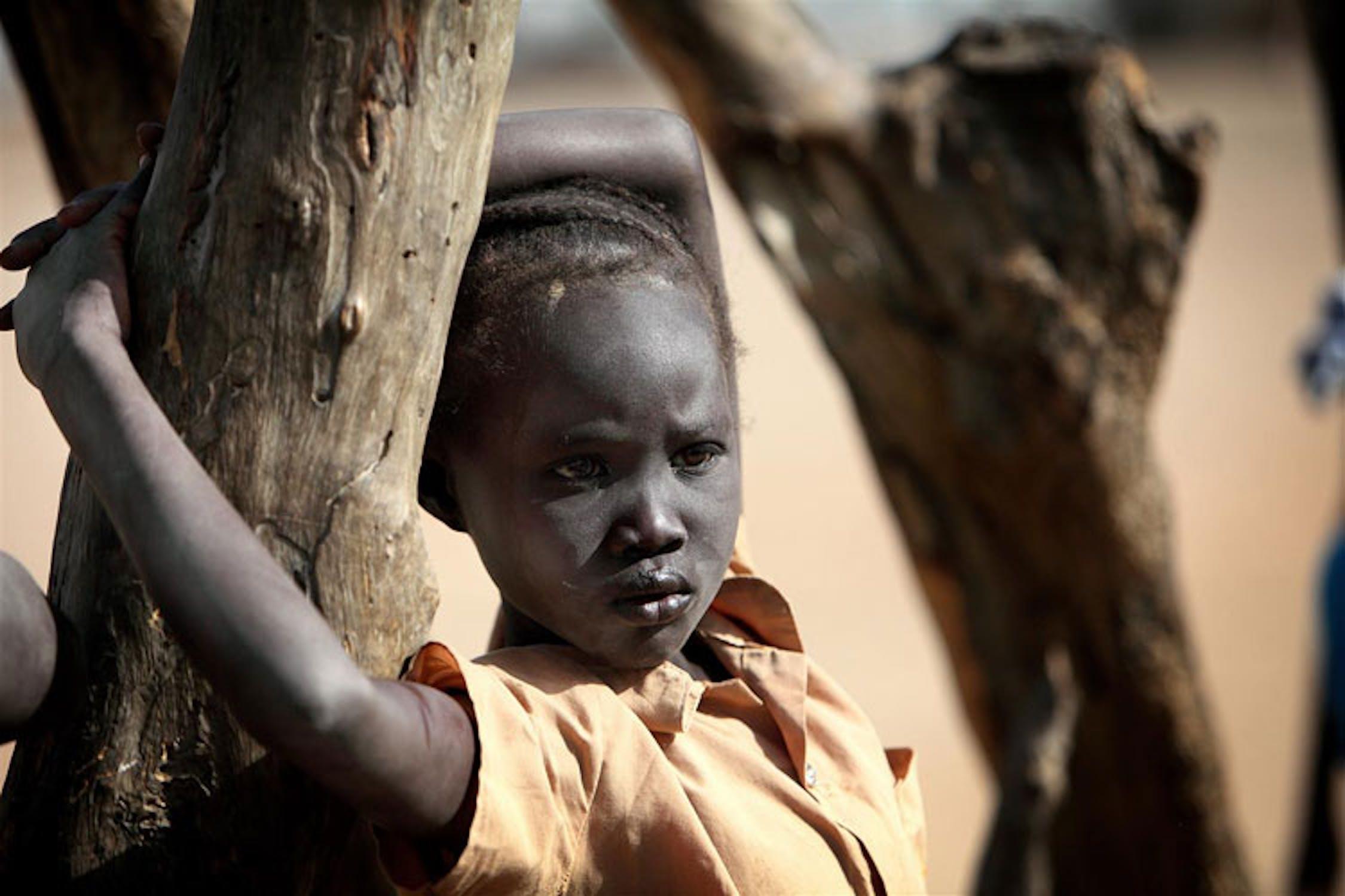 Bambini sfollati in Sudan - ©UNICEF/NYHQ2011-0455/V.de Viguerie