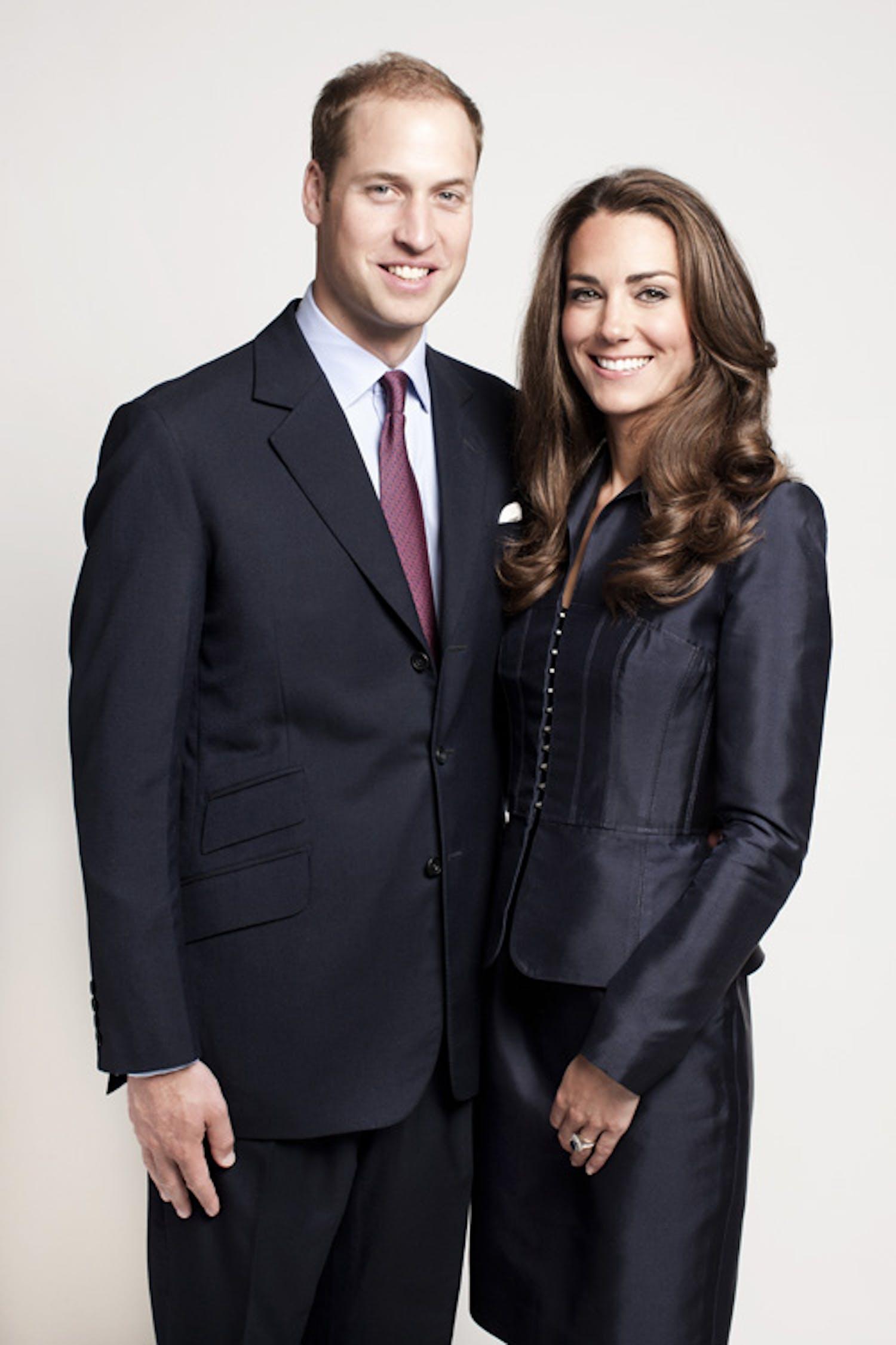 Il principe William e la moglie Kate Middleton - ©St. James's Palace by Chris Jackson/Getty