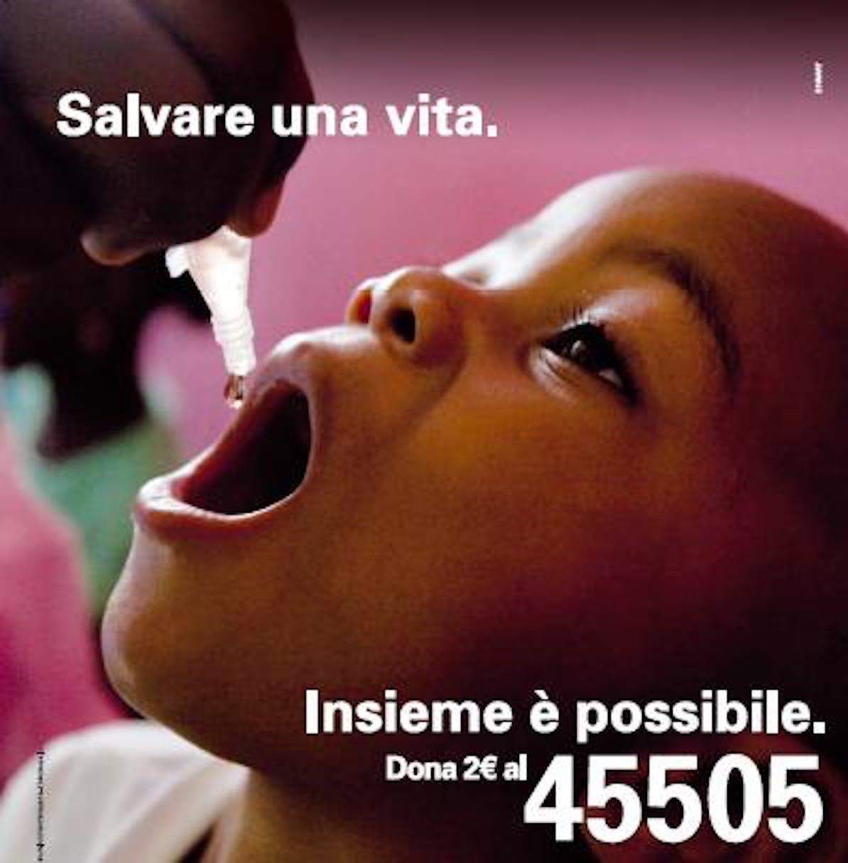 Dal 7 al 28 Maggio dona 2 euro con SMS al 45505 www.unicef.it/vogliamozero