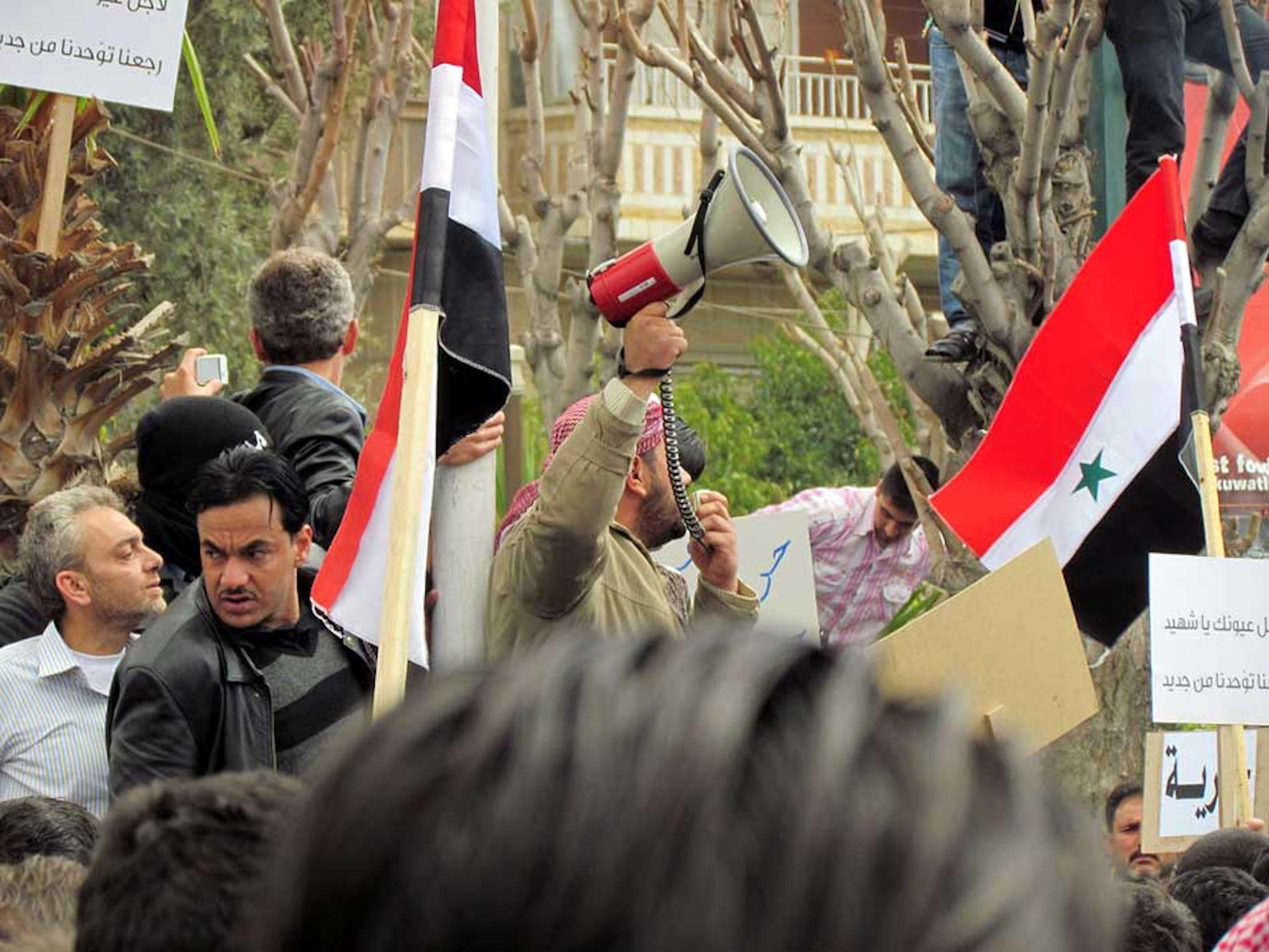 Manifestazioni anti-governative in Siria - ©UN News2011