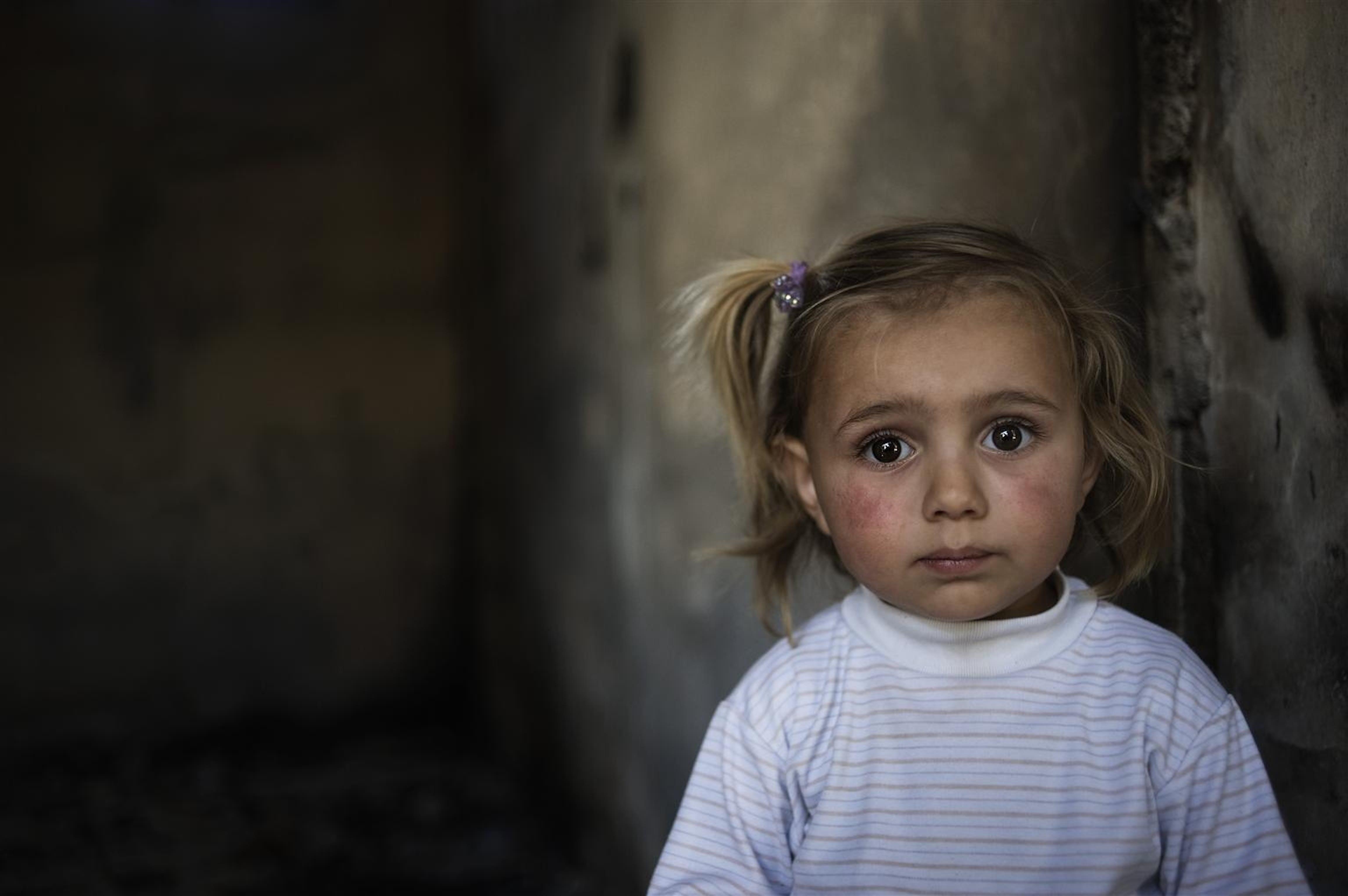 In Siria i bambini sono vittime innocenti della guerra, l'UNICEF è in prima linea per aiutarli ©UNICEF/Romenzi/2012