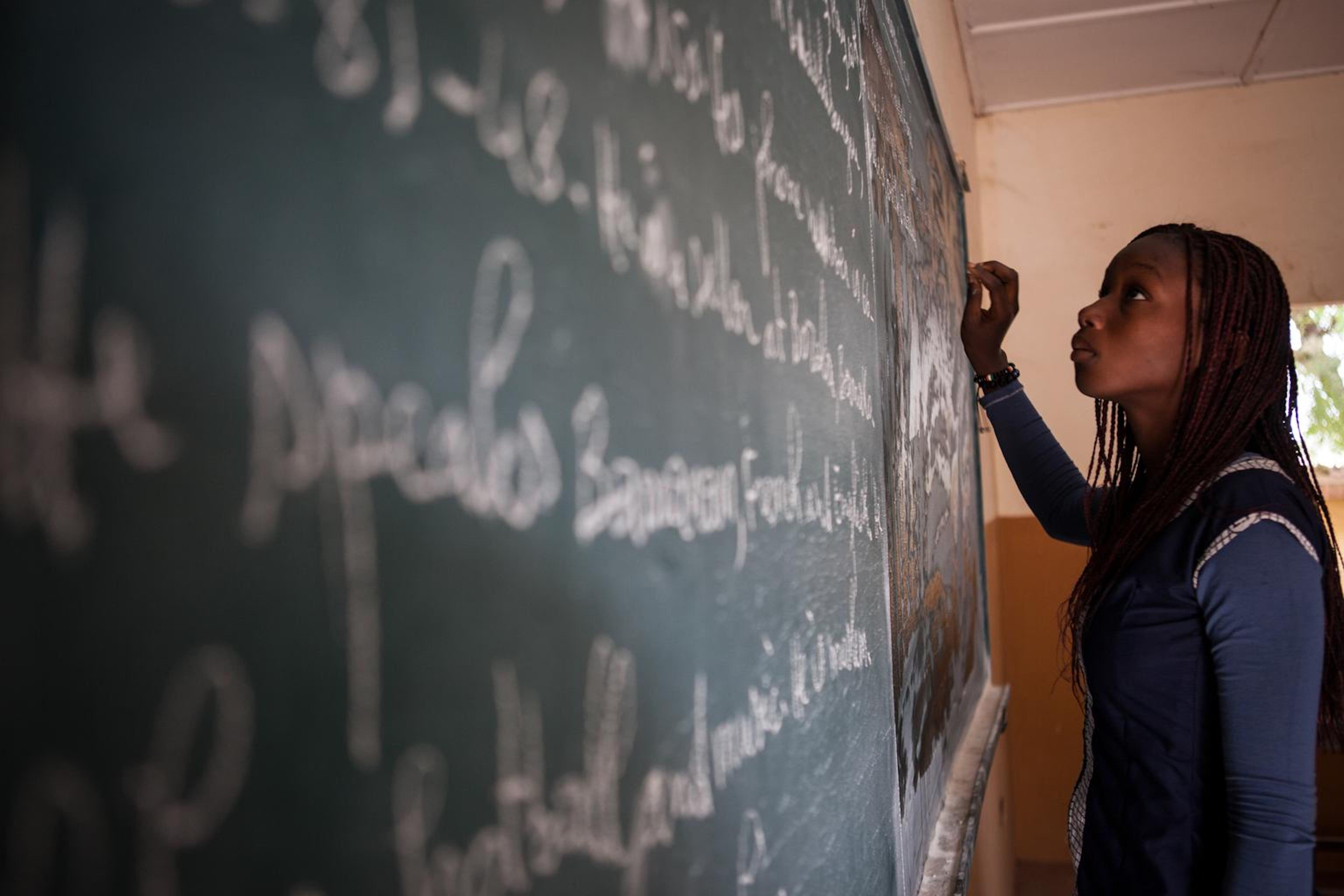 Un'alunno di Bamako, capitale del Mali - ©UNICEF Mali/2012-00888/Tanya Bindra