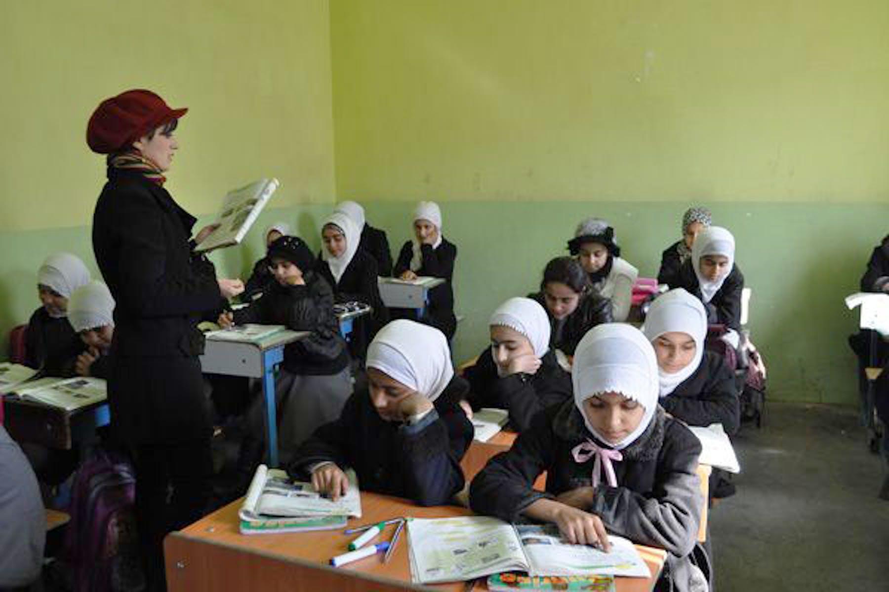 Una scuola femminile in Iraq - ©www.onu.org/br