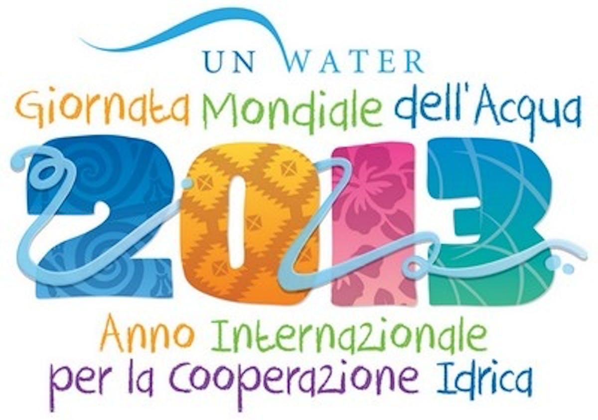 Giornata mondiale per l'acqua 2013