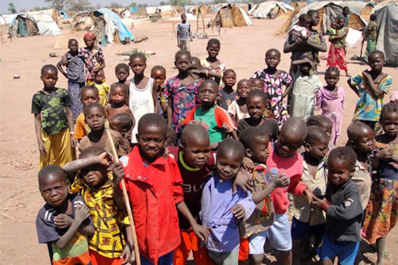 Bambini in un campo per sfollati a Kabo (Repubblica Centrafricana) - ©UN News/2013