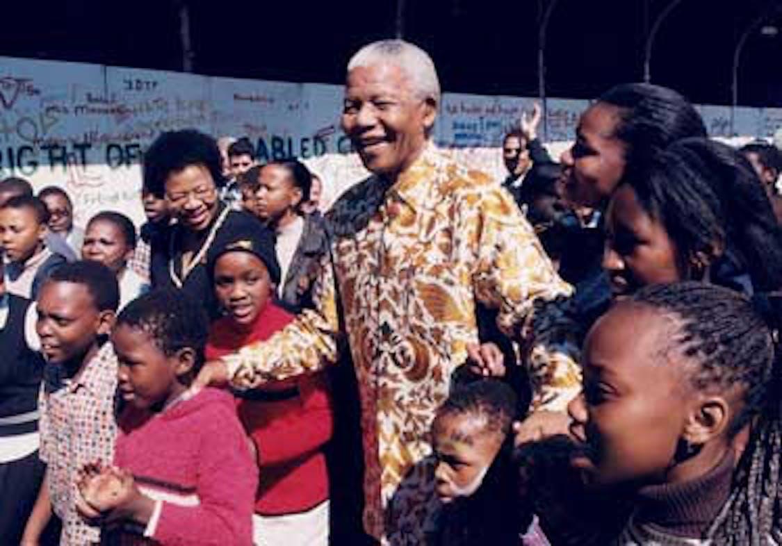 Nelson Mandela, anima insieme all'UNICEF del programma