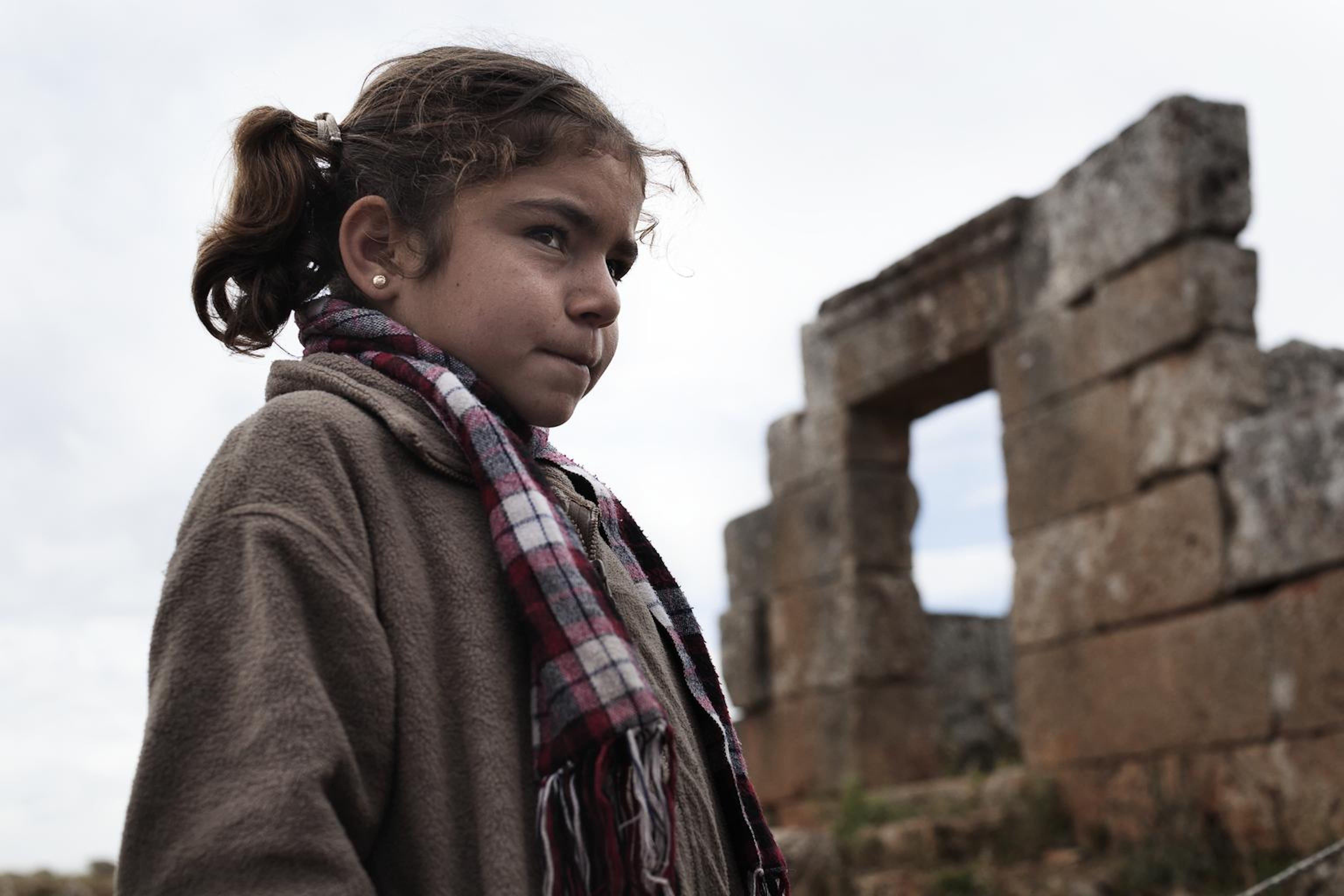 Una bambina rifugiata siriana. © UNICEF/NYHQ2013-0315/Greco