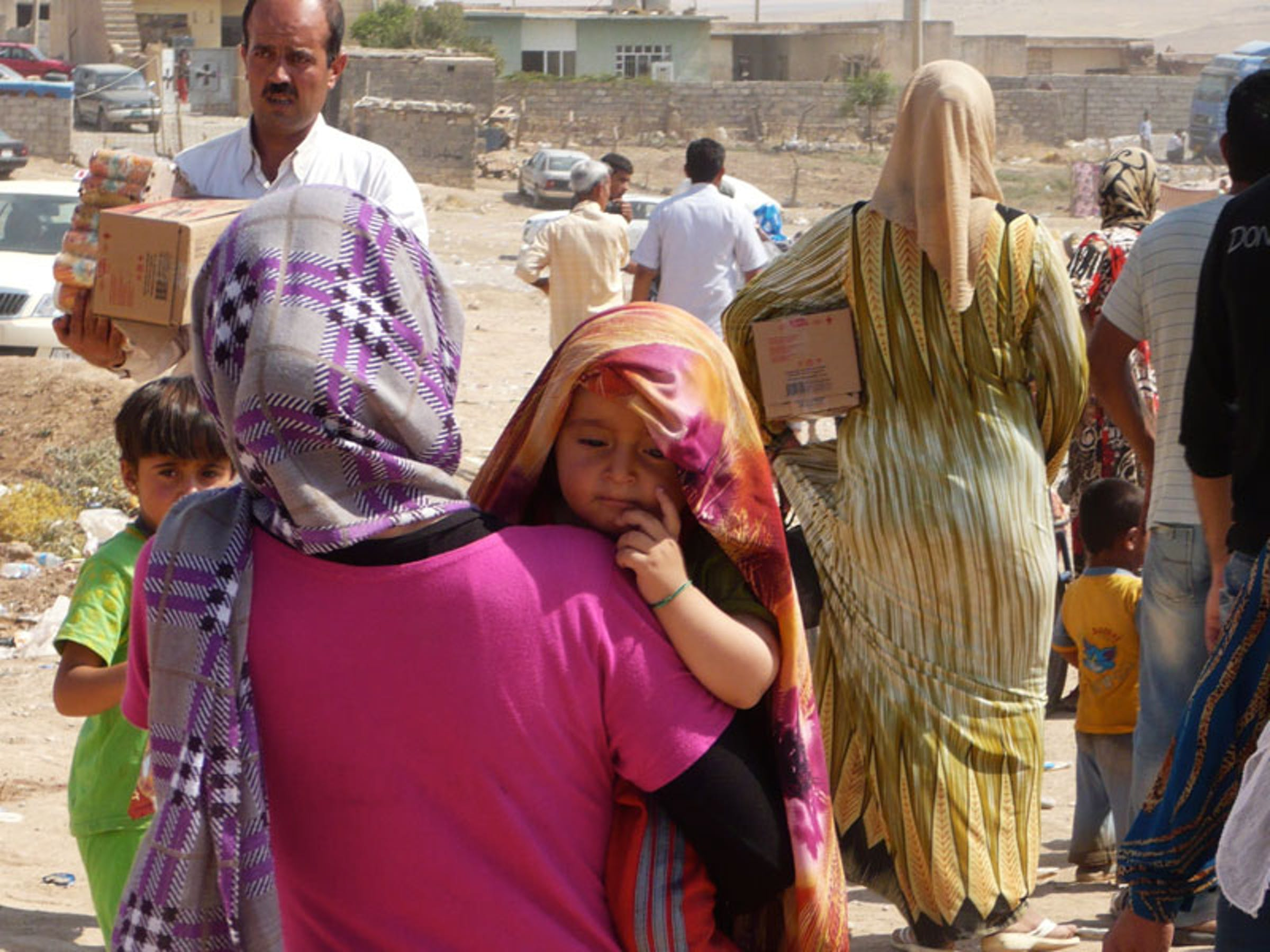 Profughi siriani a Dohuk (Iraq) - ©UNICEF Iraq/2013/Marshall Tuck