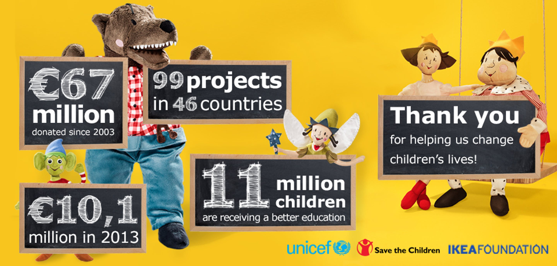 Clicca sull'immagine per vederla ingrandita. (Infografica sui risultati della campagna Soft Toys IKEA 2013)